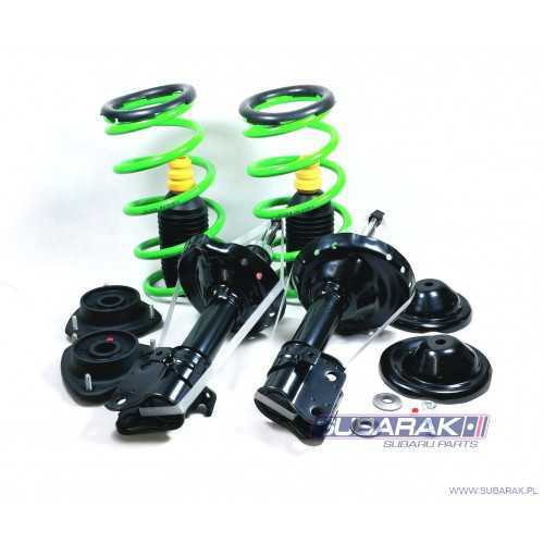 Complete FRONT Suspension Kit +35mm for Subaru Forester SF 1998-2002