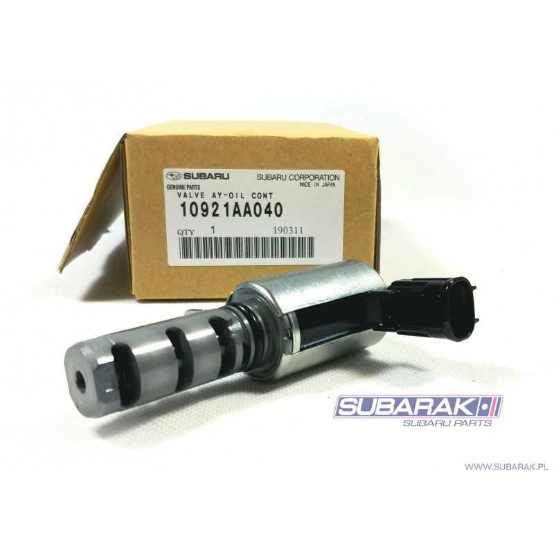 Zawór Zmiennych Faz Rozrządu AVCS do Subaru Impreza / Legacy / Outback / Tribeca / 10921AA040
