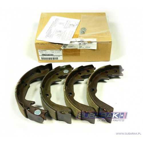 Komplet Oryginalnych Szczęk Hamulcowych do Subaru Legacy / Outback 1998-2002 / 26694AE050