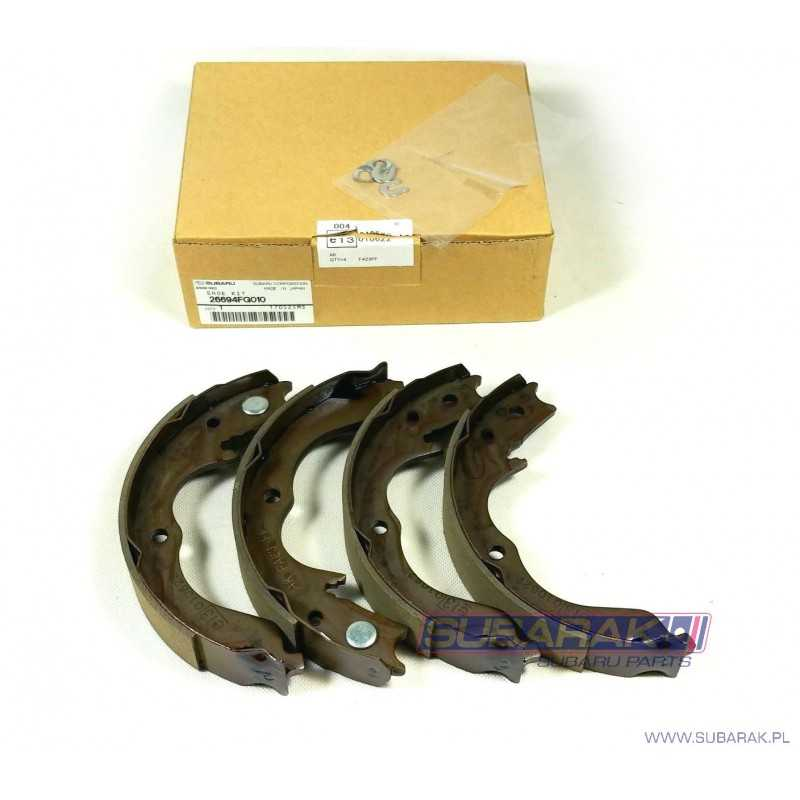 Komplet Oryginalnych Szczęk Hamulcowych do Subaru Subaru Impreza / Forester / 26694FG010