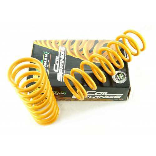 IRONMAN Rear Coil Springs fit Subaru Forester SF +35mm lift