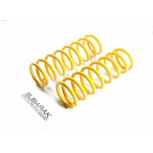 IRONMAN Front Coil Springs fit Subaru Forester SG +35mm lift
