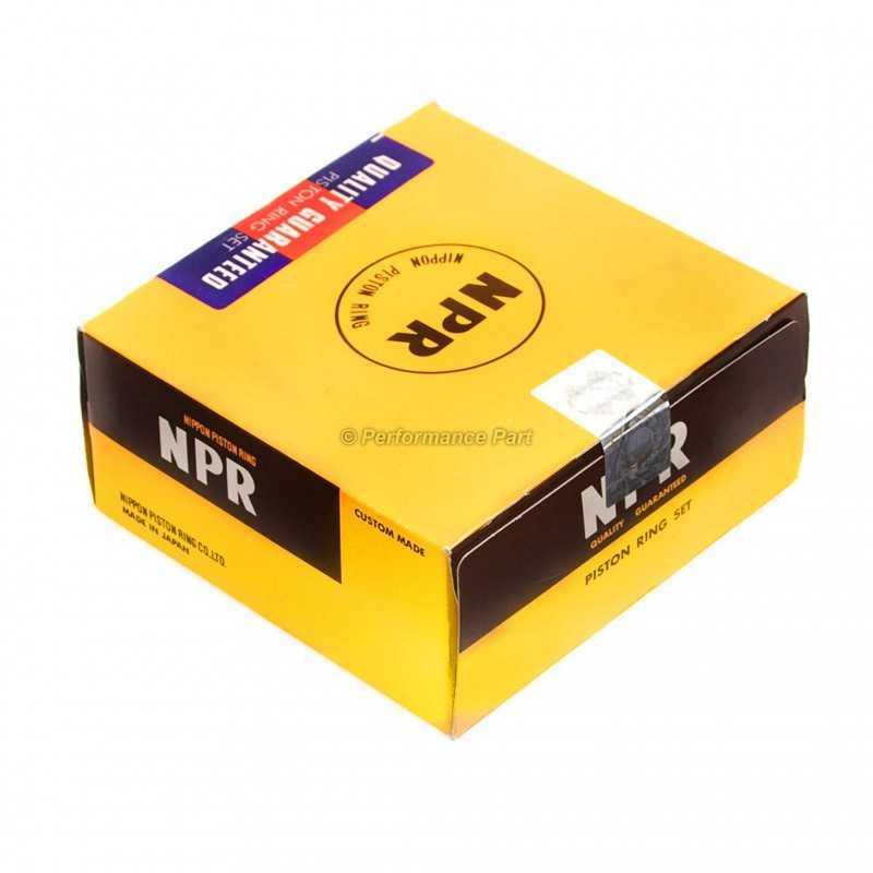 Komplet Pierścieni Tłokowych STD NPR Japan do Subaru Impreza / Legacy / Forester 2.0 DOHC / 12033AB820