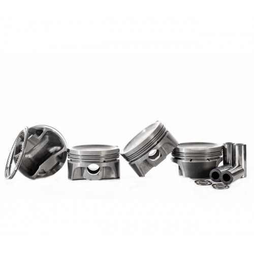 MAHLE Forged Pistons Set for Subaru with EJ205/EJ207 Engines 93 mm