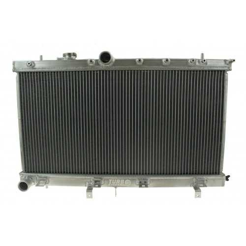 Full Alloy Sport Cooling Radiator with Pressure Cap for Subaru Impreza WRX/STI 2001-2008
