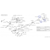 Wieszak Tłumika do Subaru Impreza / Forester / 44031AA040