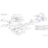 Wieszak Tłumika do Subaru Forester / Impreza / Legacy / 44066AE021