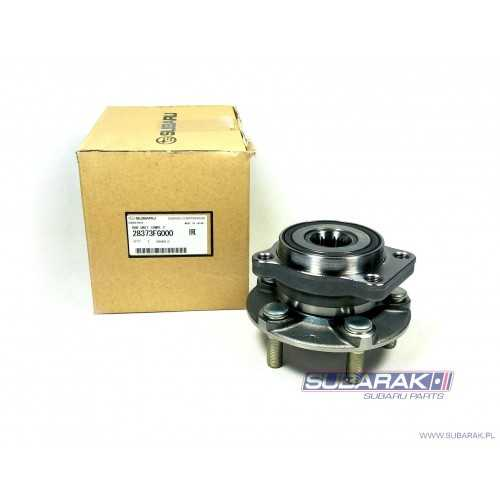 Genuine Subaru Front Wheel Hub and Bearing Assembly / Front Axle Hub Complete for Subaru Impreza / Forester / XV / 28373FG000