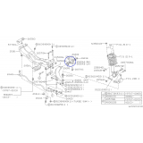 Tylna tuleja przedniego wahacza do Subaru Forester / Outback 20201FC120 PRAWA STRONA