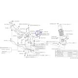 Tylna tuleja przedniego wahacza do Subaru Forester / Outback 20201AC130 LEWA STRONA