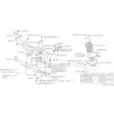 Oryginalna tuleja przednia wahacza przedniego do Subaru Forester / Impreza / Legacy / 20201AA000