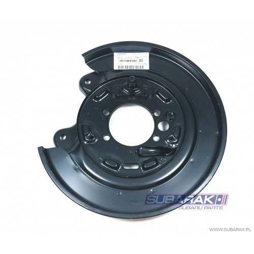 Genuine Subaru Rear Brake Backplate RIGHT for Subaru Impreza GD WRX / 26704FE080