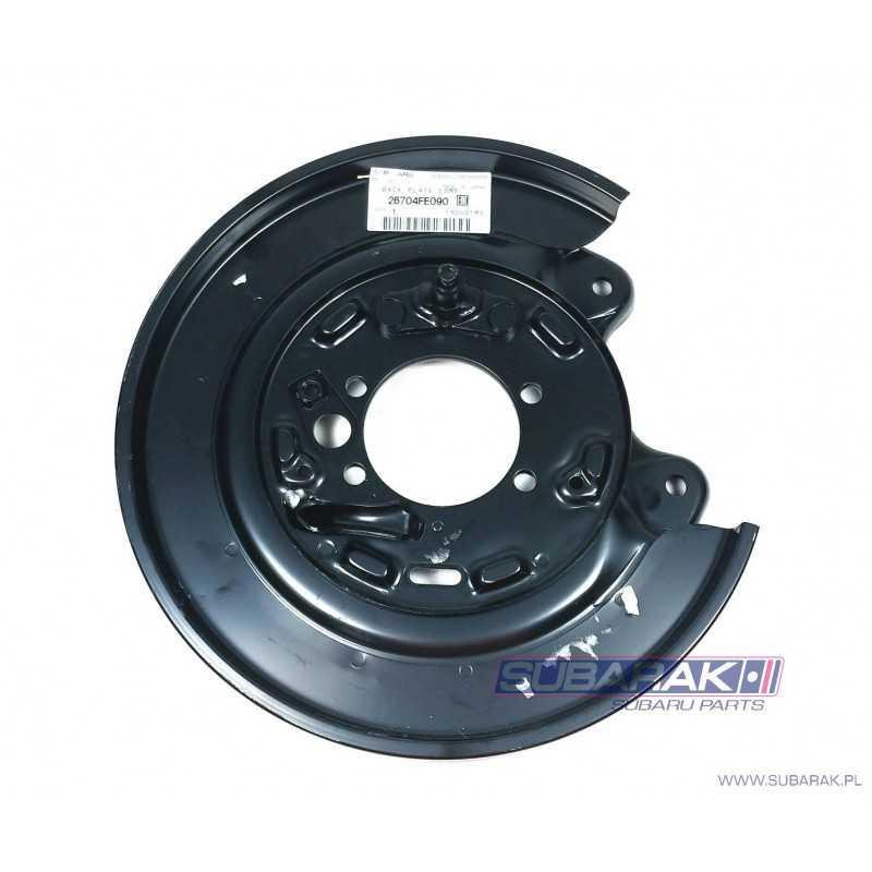 Genuine Subaru Rear Brake Backplate LEFT fits Subaru Impreza GD WRX / 26704FE090