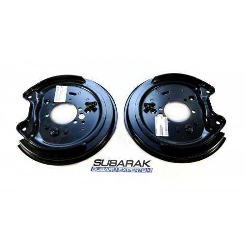 Genuine Subaru Rear Brake Backplates Set fits Impreza 26704FE080 26704FE090