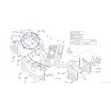 Osłona Paska Rozrządu Tylna Lewa do Subaru N/A SOHC do 1998 / 13568AA035