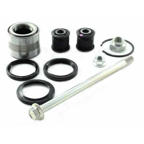 Rear Wheel Bearing Kit with Bolt and Bushings fits Subaru