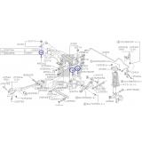 Podkładka Tylnej Belki do Subaru Impreza / Forester / 20175AA010