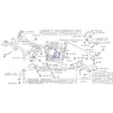Tuleja Tylnego Wahacza do Subaru Impreza / Forester / Legacy / Outback / XV / 20254FG020
