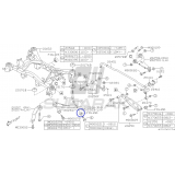 Tuleja Tylnego Wahacza do Subaru Impreza / Forester / Legacy / Outback / 20254FG010
