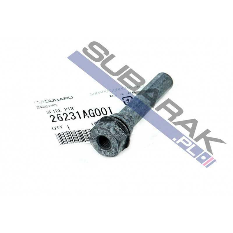 Oryginalna prowadnica zacisku hamulcowego przód do Subaru 26231AG001