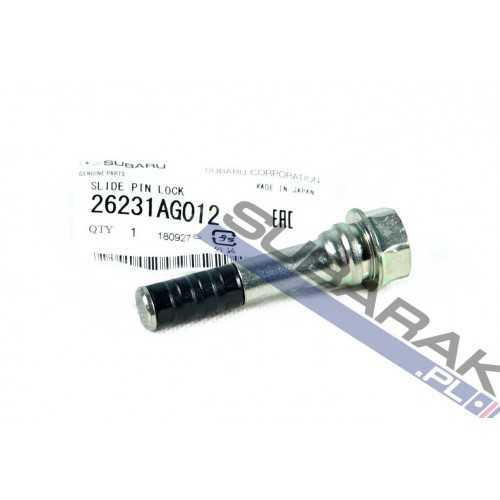 Genuine Subaru Front Brak Caliper Guide Pin 26231AG012