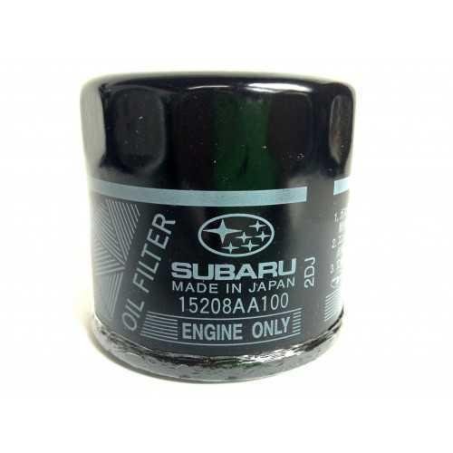 Oryginalny filtr oleju Subaru do silników benzynowych EJ 4 cylindry 15208AA100