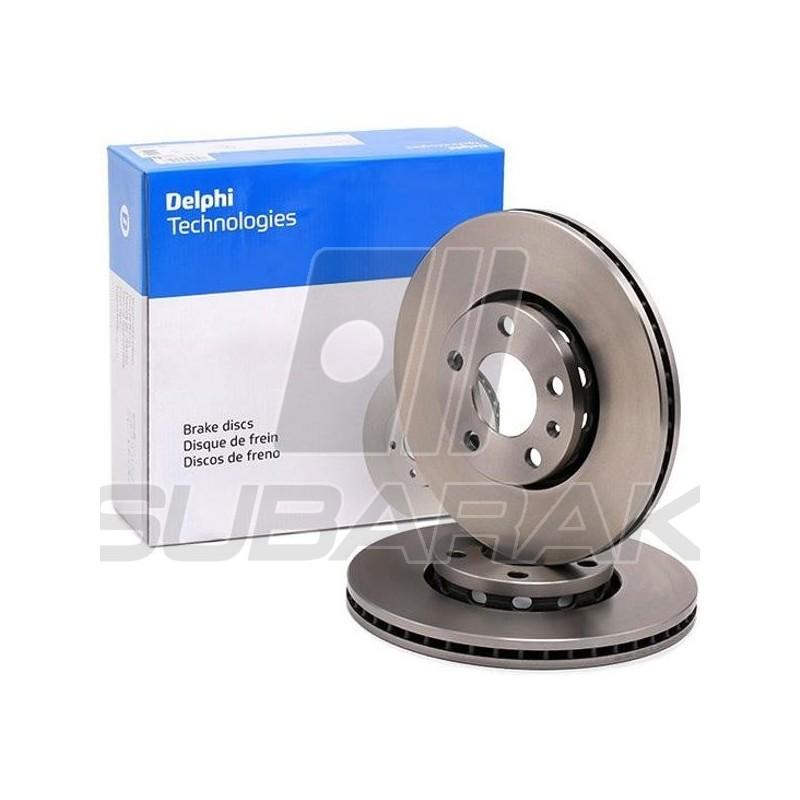Brake Disc Rear Delphi for Subaru XV / Impreza 2017-