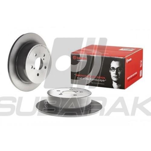 Brake Discs Rear Brembo for Subaru Legacy / Outback 2003-2008