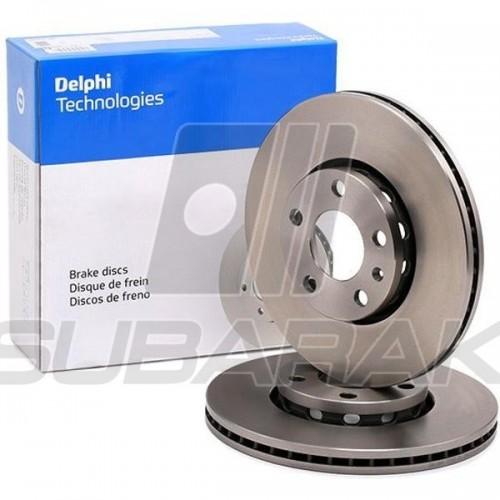 Brake Discs Front Delphi for Subaru XV / Impreza 2017-