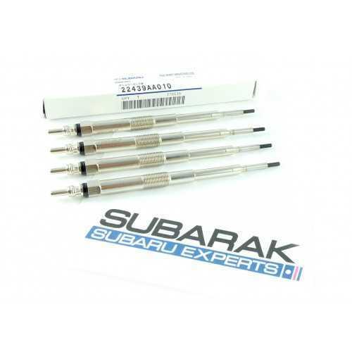 Oryginalne świece żarowe do Subaru Diesel (4 szt) 22439AA010
