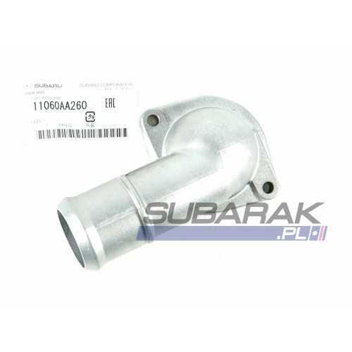 Genuine Subaru Water Inlet / Cover Thermo 11060AA260 fits FB engines