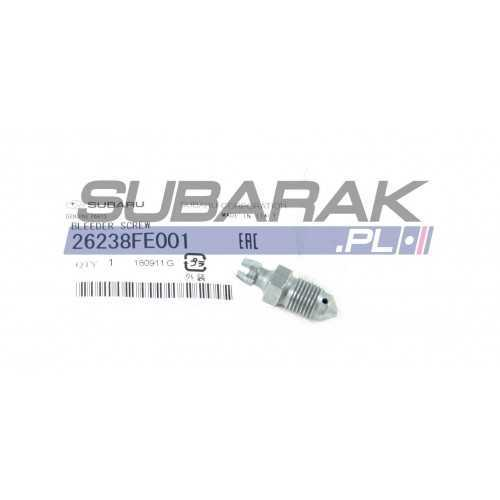 Genuine Subaru Brake Caliper Bleeder Screw 26238FE001 fits WRX / STI
