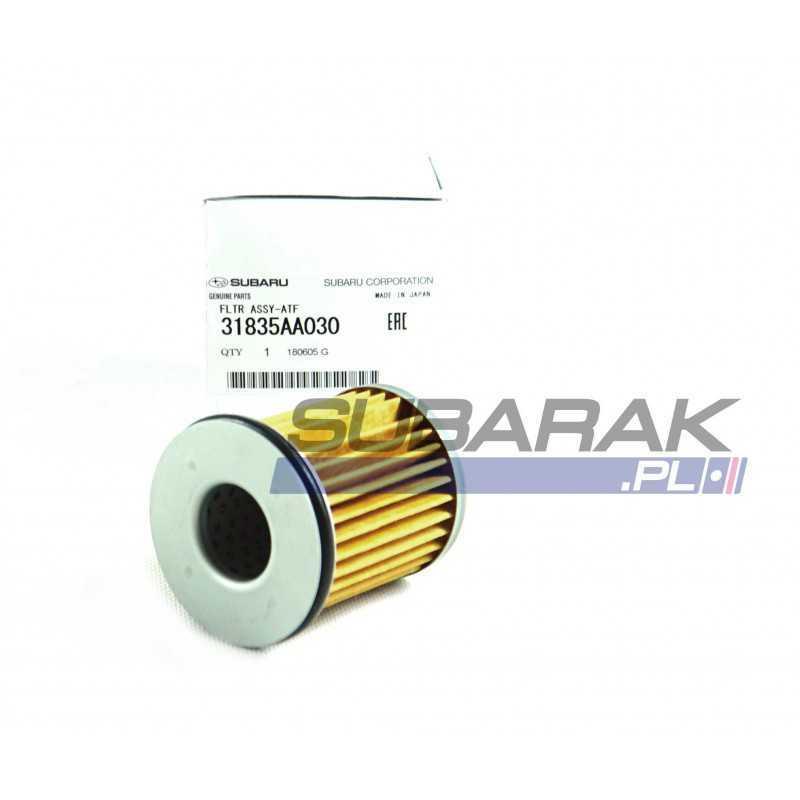 Oryginalny filtr oleju automatycznej skrzyni biegów CVT Subaru 31835AA030