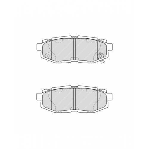 Klocki hamulcowe REMSA do Subaru Forester / Legacy / Tribeca TYŁ