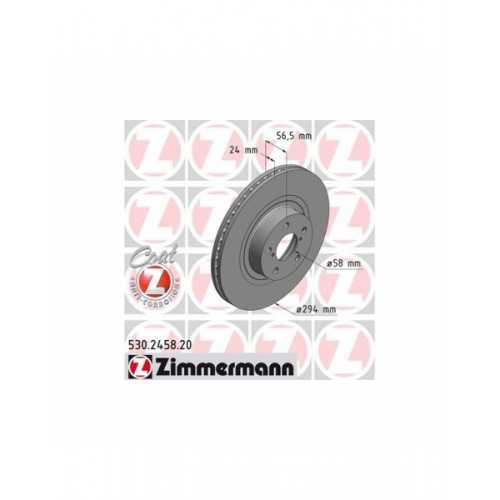 Zimmermann 294mm Brake Discs FRONT fits Subaru Impreza / Forester / Legacy / Outback