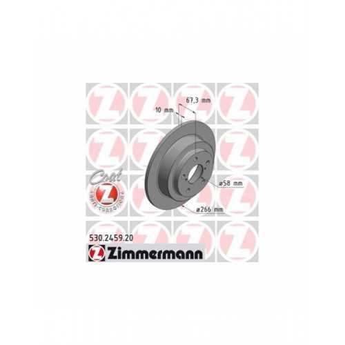 Zimmermann 266mm Brake Discs REAR Subaru Impreza / Forester / Legacy / Outback