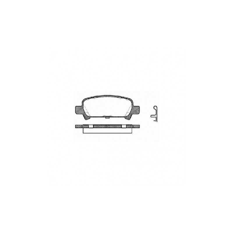 Klocki hamulcowe GALFER FDT1055 do Subaru Impreza / Forester / Legacy