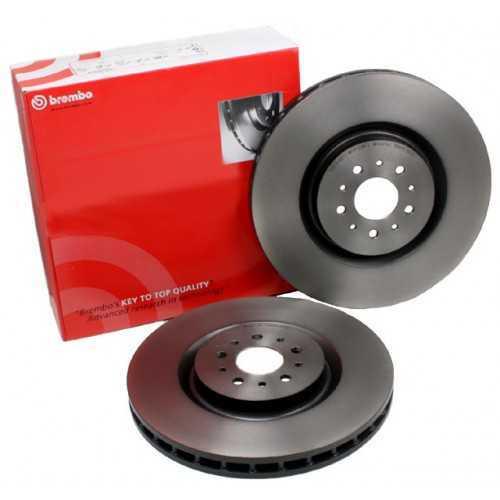Brembo 326mm Brake Discs FRONT fits Subaru Impreza STI (5x100mm hubs)