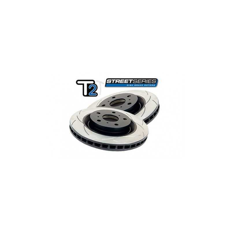 DBA Street T2 294mm Brake Discs FRONT fits Subaru Impreza / Forester / Legacy / Outback