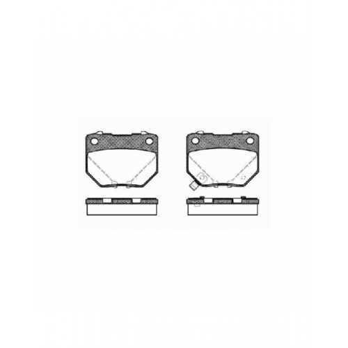 Klocki hamulcowe Hawk Performance Ceramic do Subaru Impreza GT / WRX TYŁ (2-tłoczek)