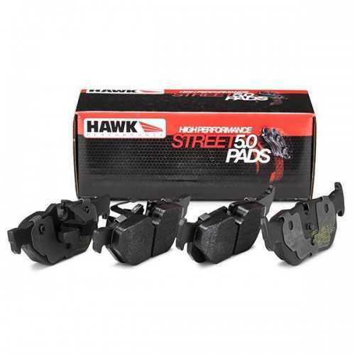 Hawk Performance HPS 5.0 REAR Brake Pads fit Subaru Impreza GT / WRX