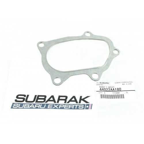 Genuine Subaru Turbo-Downpipe Gasket fits GT WRX STI 44022AA180 cat pipe outlet