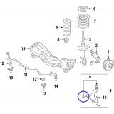 Przednia tuleja przedniego wahacza do Subaru Legacy / Outback / Impreza / Forester / XV 20204AG030
