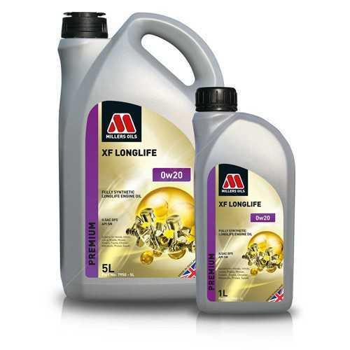 Millers Oils XF LL 0W20 5L