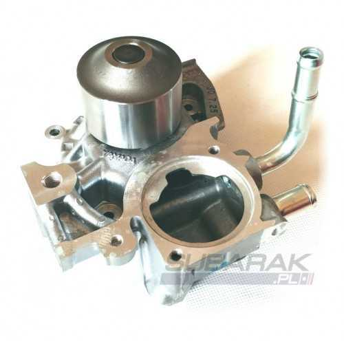 Water pump for Subaru. Angle water connection 21111AA370