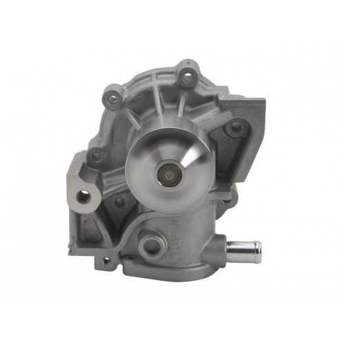 Water pump AISIN for Subaru. Bottom thermo connection 21111AA007