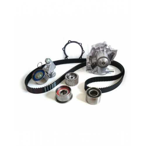 Timing belt kit with water pump for Subaru. Bottom thermo connection