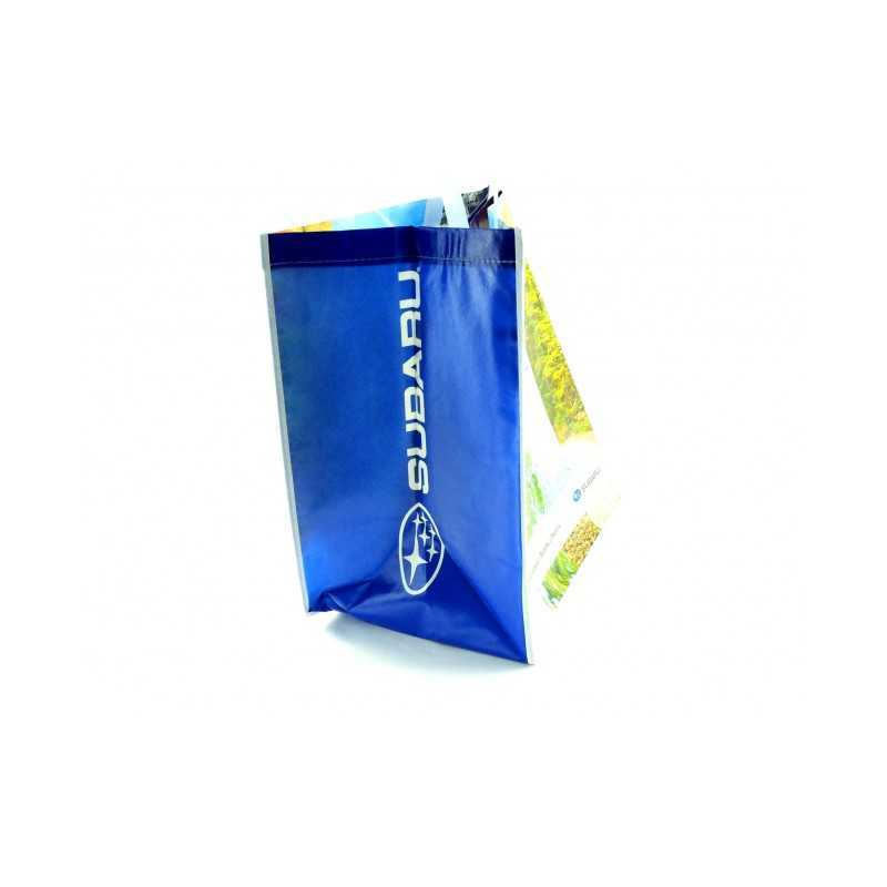 Eco shopping bag with Subaru logos